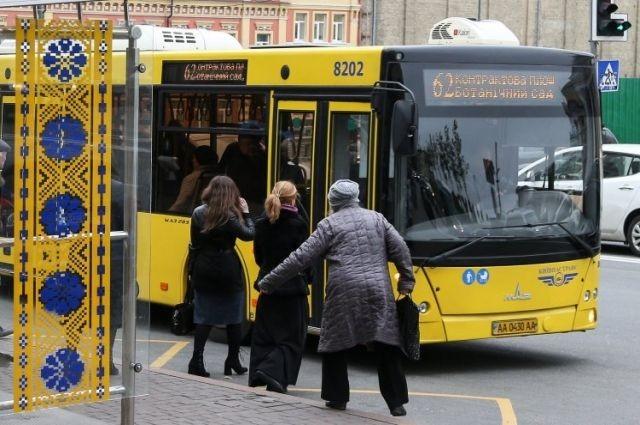 В Киеве вводятся новые правила проезда льготников в общественном транспорте