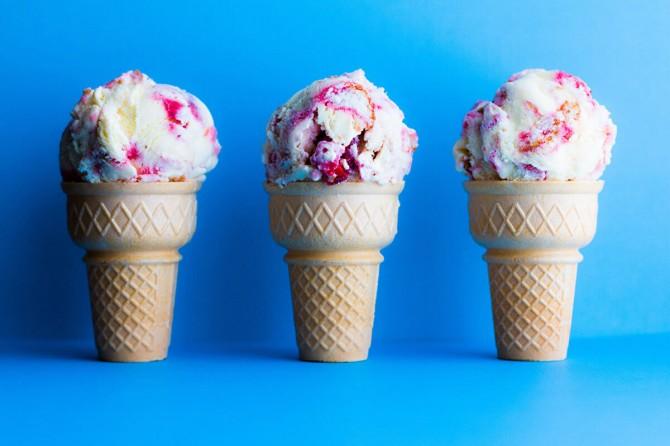 Ученые научились делать мороженое при помощи углекислого газа