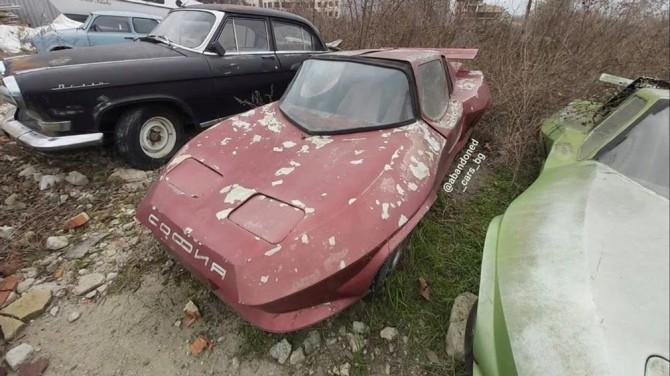 В Болгарии обнаружили заброшенные спорткары-самоделки (ФОТО)