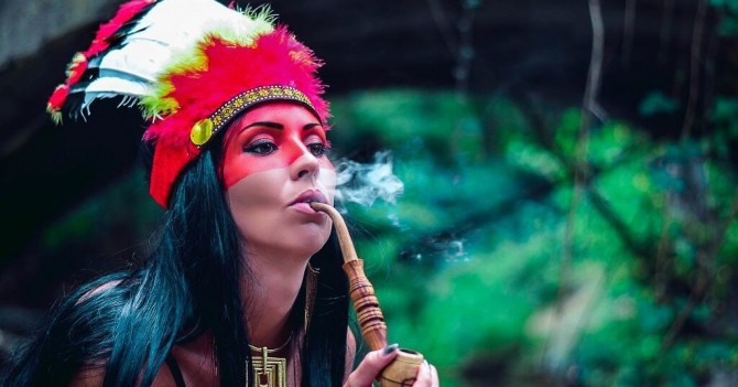 Ученые выяснили, что курили 1400 лет назад