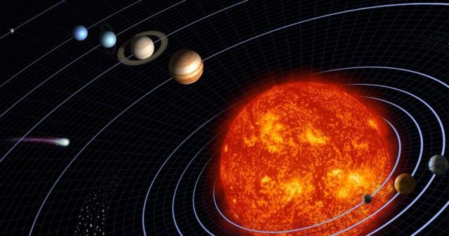Гравитационный центр Солнечной системы вычислили с точностью до 100 метров