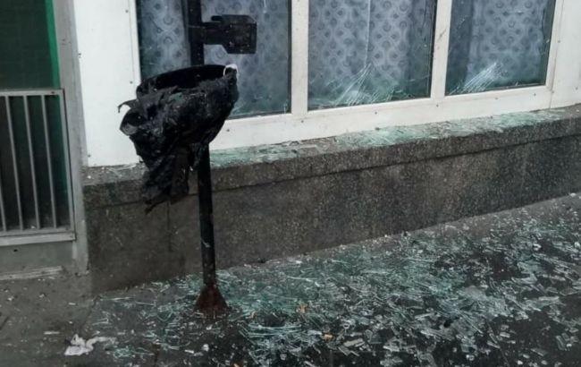 В пятницу возле метро Шулявская произошел взрыв