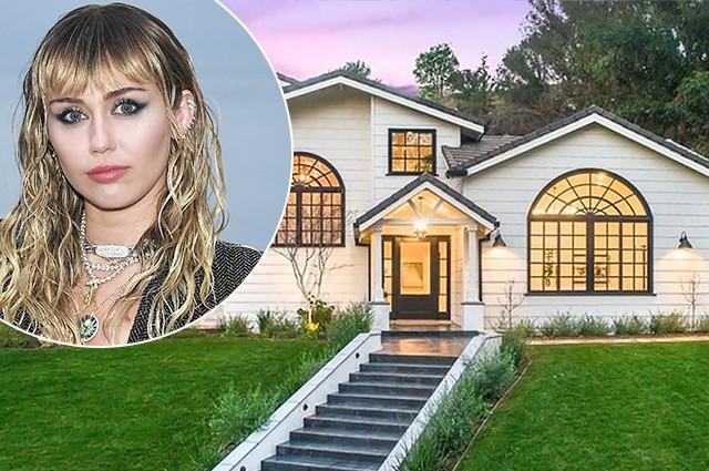 Майли Сайрус купила новый особняк в Лос-Анджелесе за 5 миллионов долларов