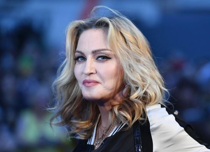 61-летняя Мадонна опубликовала откровенное селфи