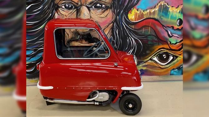В продаже появился самый маленький в мире серийный автомобиль