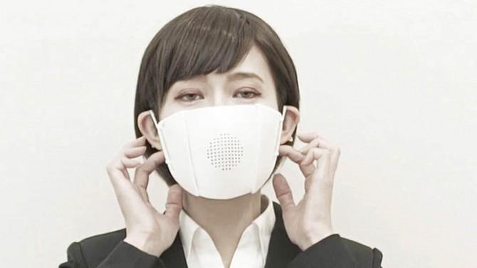 В Японии создали маски, превращающие речь в текст