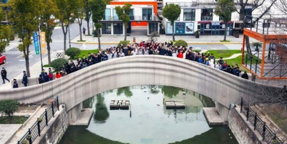 В Китае на 3D-принтере напечатали самый длинный мост