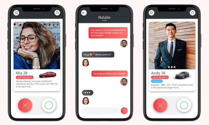 В Канаде разрабатывают приложение для знакомств Tesla Dating