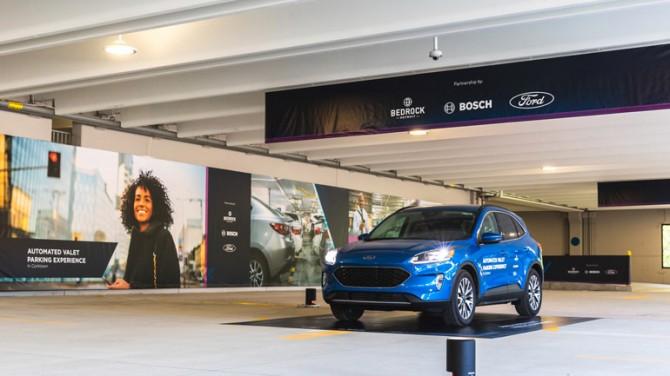 Ford продемонстрировал работу системы автономной парковки (ВИДЕО)