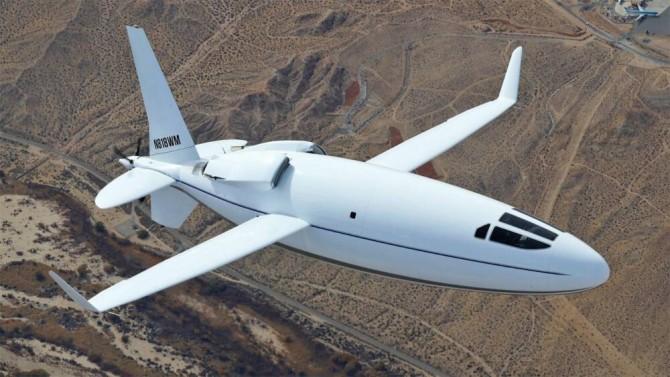 Американская компания презентовала новый самолет-пулю Celera 500L