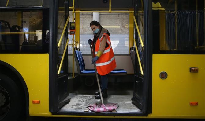 В Киеве из-за COVID-19 могут приостановить работу общественного транспорта