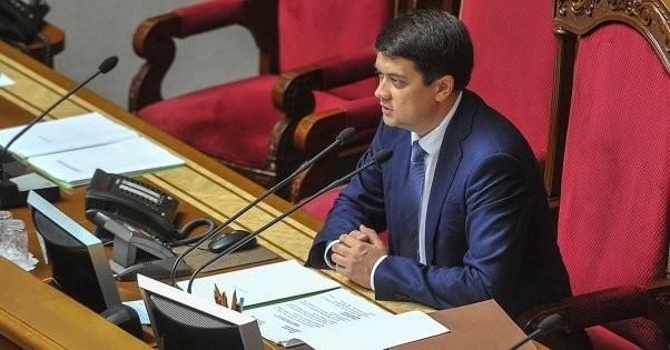 Дмитрий Разумков заявил о готовности распустить Верховную Раду