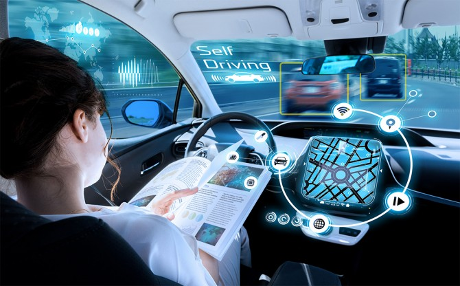 Немецкие ученые создали алгоритм безаварийной езды на беспилотном авто