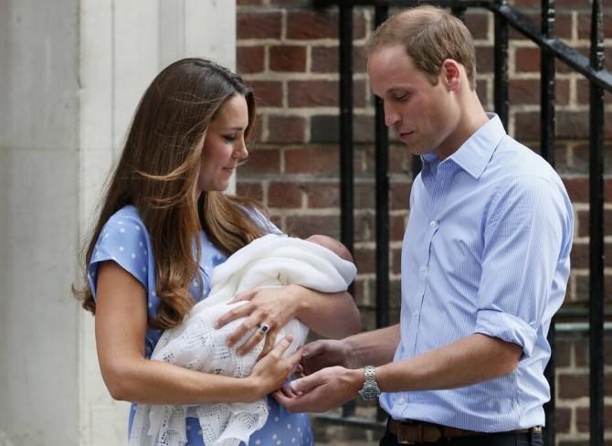 Кейт Миддлтон стеснялась появляться на публике после родов