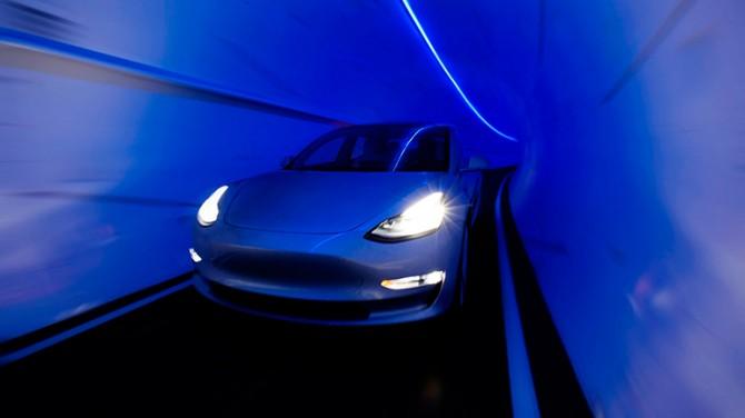 Илон Маск сообщил о готовности петлевого туннеля в Лас-Вегасе