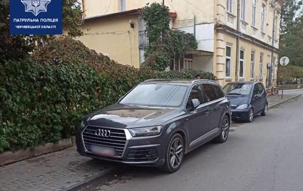 Житель Черновцов забыл, где припарковался и заявил об угоне
