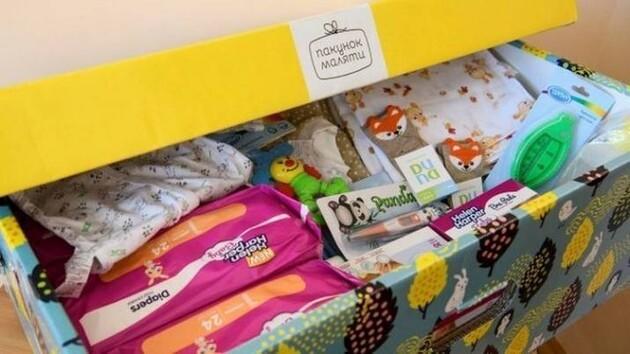 Президент Украины вернул «натуральный» пакет малыша