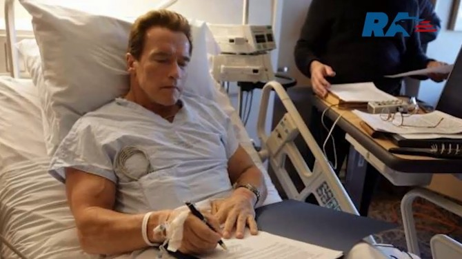 Арнольду Шварценеггеру сделали очередную операцию на сердце