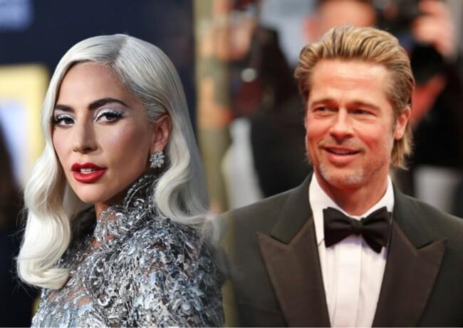 Леди Гага сыграет в новом фильме с Брэдом Питтом