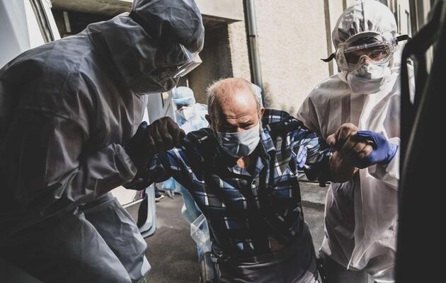 В Украине за сутки более 12 тыс. новых больных коронавирусом