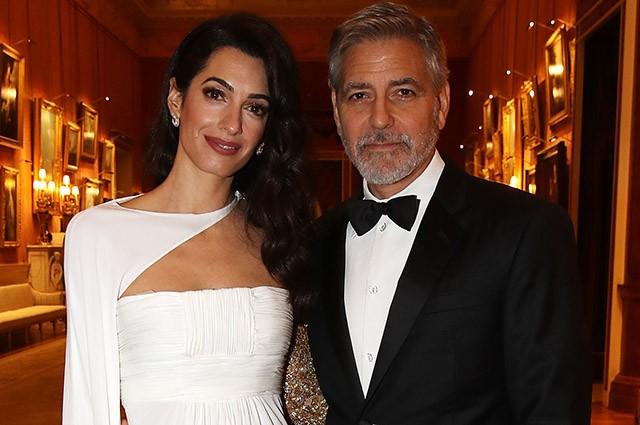 Джордж Клуни признался, что они с Амаль не думали ни о браке, ни о детях