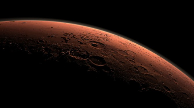 В марсианском метеорите нашли признаки воды