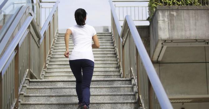 Подъем по лестнице улучшает самочувствие