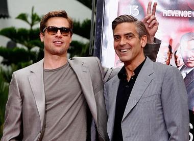 Джордж Клуни рассказал, как Брэд Питт однажды разыграл его на съемках в Италии