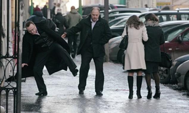В Киеве общественный транспорт перешел на особый режим из-за непогоды