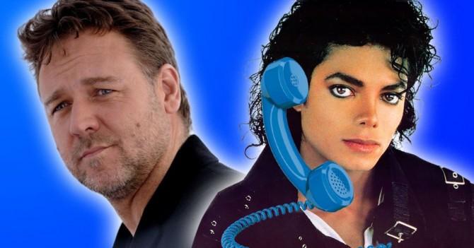 Оказывается, Майкл Джексон несколько лет разыгрывал Рассела Кроу по телефону