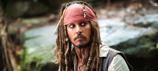 Студия Disney запретила Джонни Деппу играть Джека Воробья
