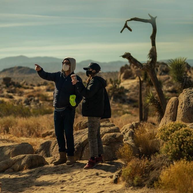 Дэвид Литч показал первые фото со съёмок боевика с Брэдом Питтом