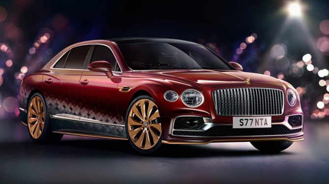 Bentley отпразднует рождество с уникальной «Восьмеркой оленей»