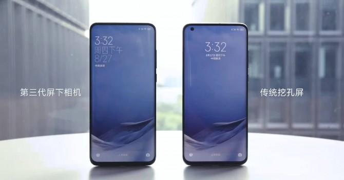 Xiaomi Mi 11 Pro получит камеру под экраном
