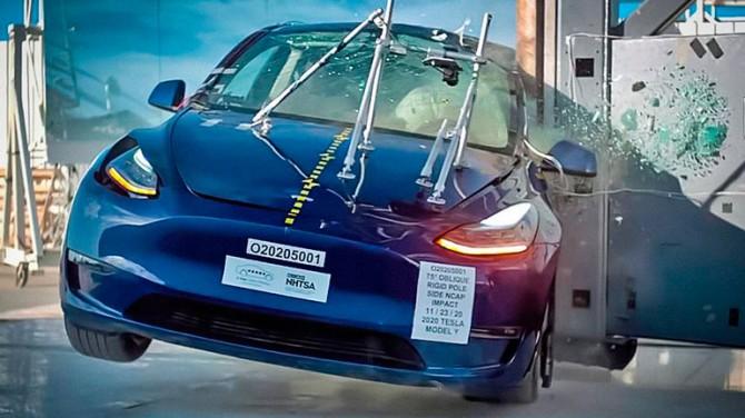 Tesla Model Y испытали на прочность