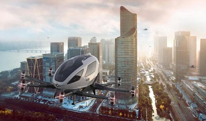 В небе европейских городов появятся китайские аэротакси