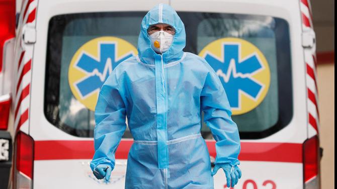 В Украине за сутки выявили менее 4 тысяч COVID-больных
