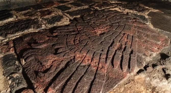 В центре Мехико обнаружили ацтекский барельеф