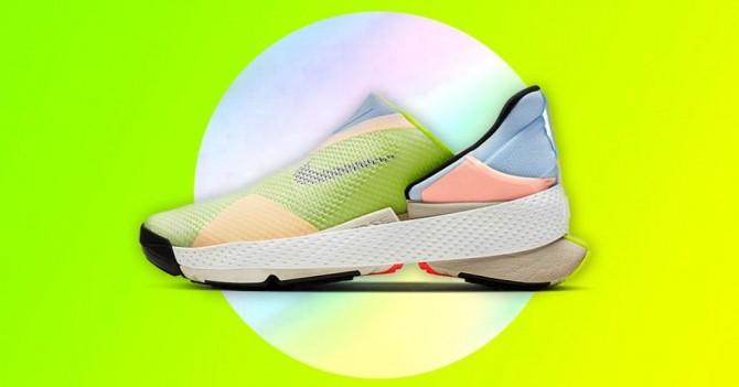 Nike показали новую модель кроссовок, которые можно надеть без рук (ВИДЕО)