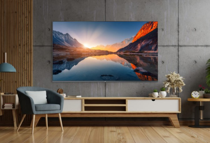 В понедельник компания Xiaomi представит в Европе телевизор Mi QLED 4K TV