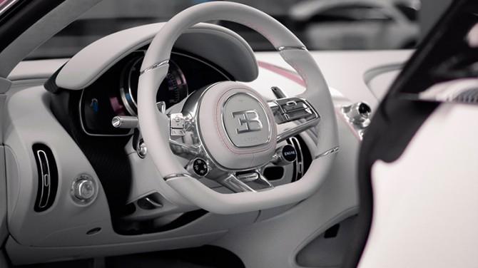 Уникальный Bugatti Chiron стал подарком ко Дню всех влюбленных
