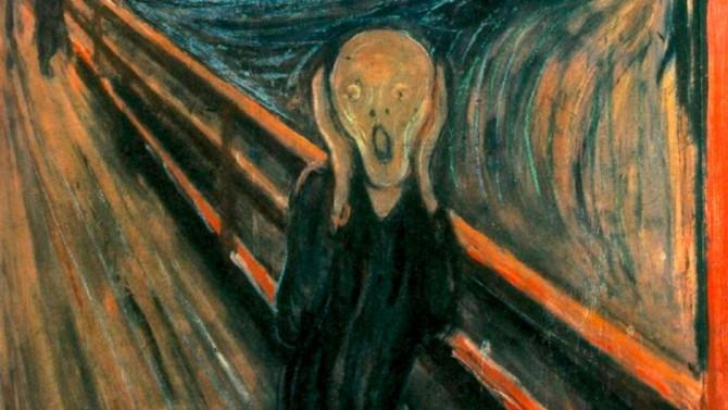 Раскрыта тайна надписи на картине «Крик» Эдварда Мунка