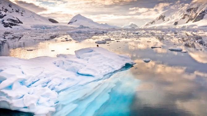 В Антарктиде нашли призрачную частицу, пролетевшую 700 млн световых лет