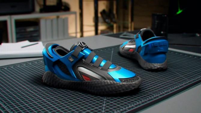 Lexus показал кроссовки, стилизованные под модель IS F Sport