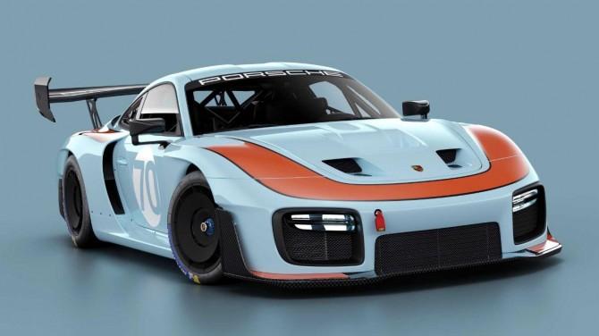 Porsche показал обновленную версию гоночного автомобиля 935 на видео