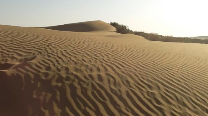 В пустыне Сахара нашли осколок древней планеты