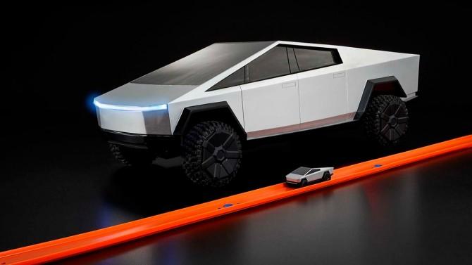 Илон Маск намекнул на отсутствие дверных ручек в Tesla Cybertruck