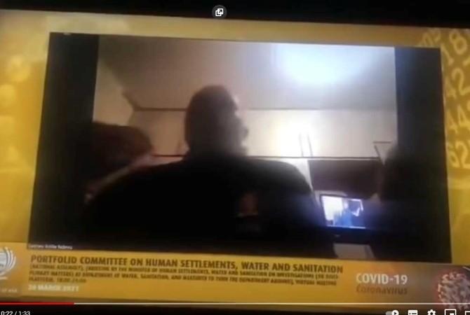 В ЮАР жена чиновника сорвала Zoom-конференцию, появившись на видео голой