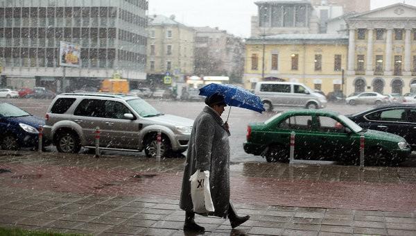 На Украину снова движется холод с ночными морозами и мокрым снегом