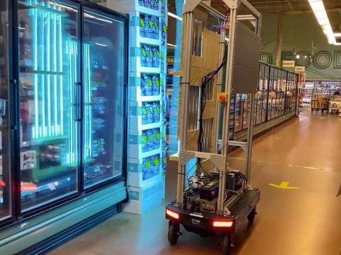 В Швейцарии изобрели робота, убивающего коронавирус